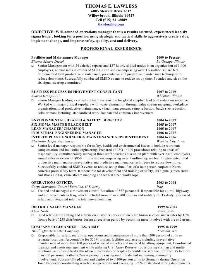 lawless resume 2010