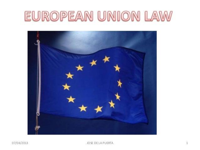 Law making in the e.u