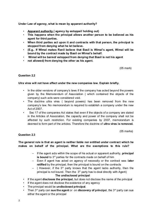 Etonnant Sample Business Law Essay Questions And Answers