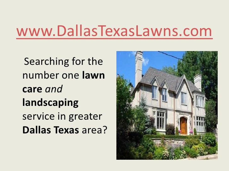 www.DallasTexasLawns.com<br />    Searching for the number one lawncareandlandscaping service in greater Dallas Texas area...