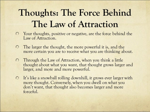law of attraction and manifestation miracle