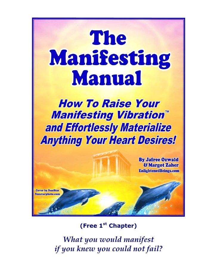 Law Of  Attraction Manifesting  Manual