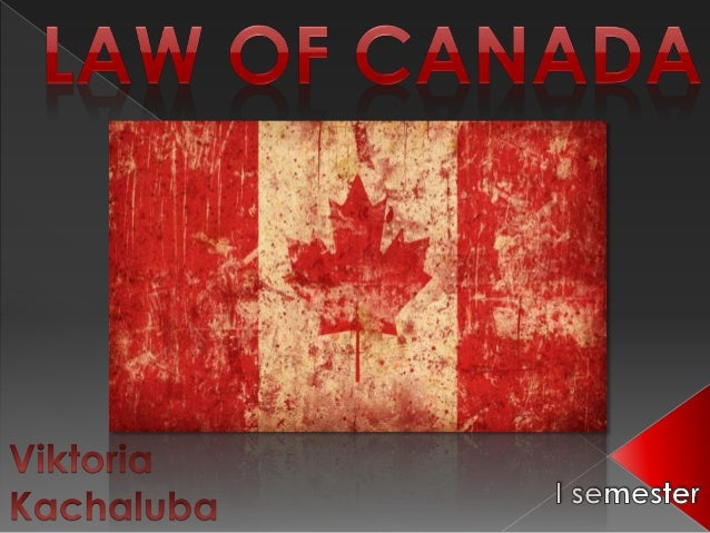 Law of Canada
