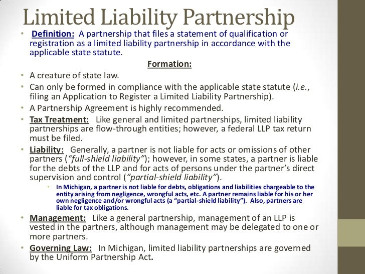 the liabilities of partners and minor The law of agency is an area of commercial law dealing with a partners have authority to bind the other partners in the firm, their liability being joint and.