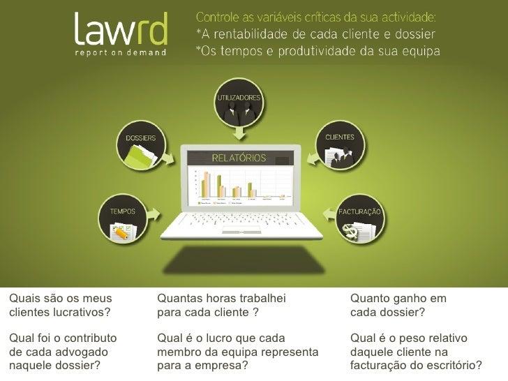 LawRD - Report on Demand (PT)
