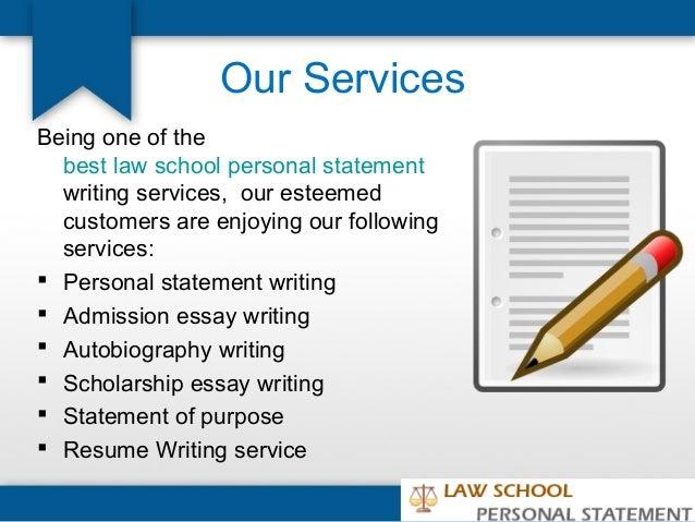 Law school admission essay service word