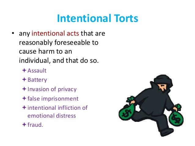 Legal System: Type of law, Torts and Liabilities