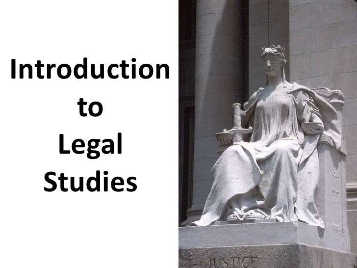 Introduction to                  Legal Studies<br />