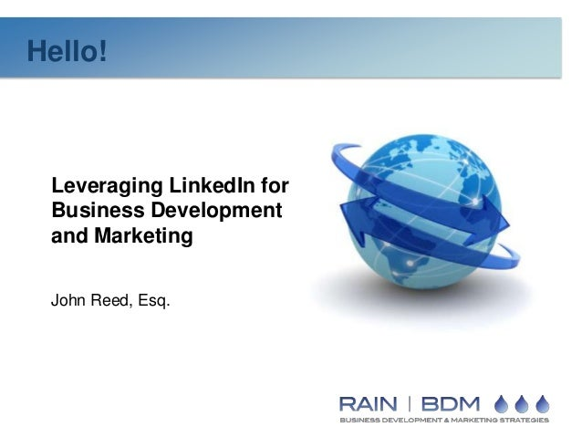 Leveraging Linked for Business Development & Marketing
