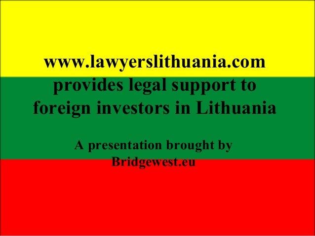 Lawyers Lithuania