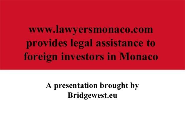 Lawyers Monaco