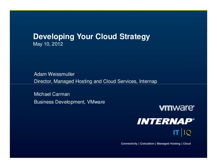 Lax breakfast forum_developing_your_cloud_strategy_05_10_2012
