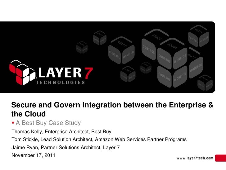Secure and Govern Integration between the Enterprise & the Cloud