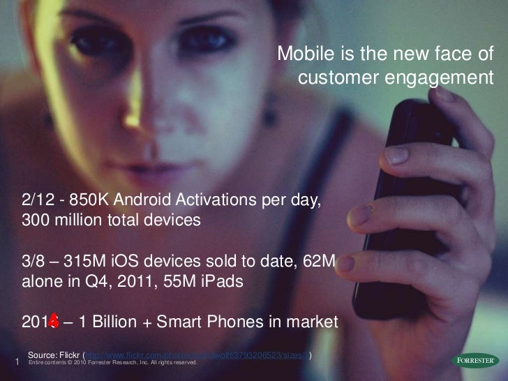 Mobile is the New Face of Customer Engagement