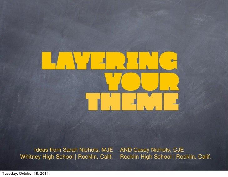 layering theme