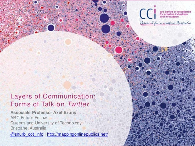 Layers of Communication: Forms of Talk on Twitter