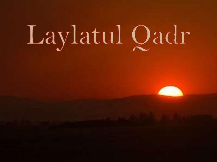 LaylatulQadr<br />