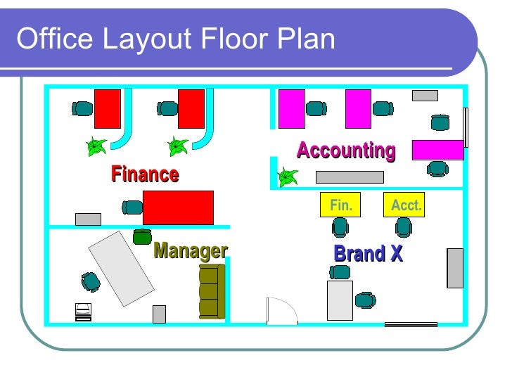 Layout for Office design rules of thumb