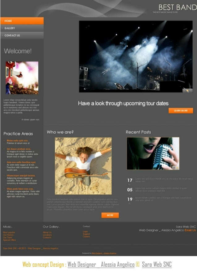 Layout Fluid - Website