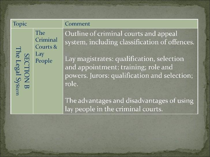 advantages and disadvantages of a juries and lay magistrates $vli 7xido zzz odzwhdfkhu fr xn ˇ $gylfh riw khf ohun 7kh odfn ri ohjdo nqrzohgjhr i od\ pdjlvwudwhv vkrxoge h riivhwe \ wkh idfwwkd w d ohjdoo\ txdolilhg.