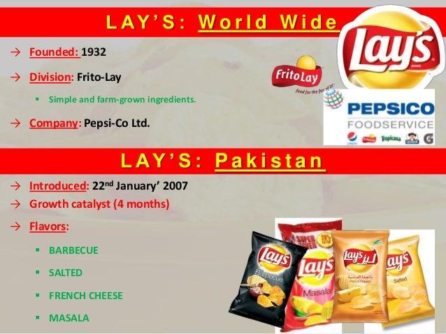 swot frito lay's dips