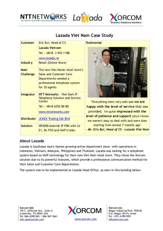 Lazada Viet Nam Case Study