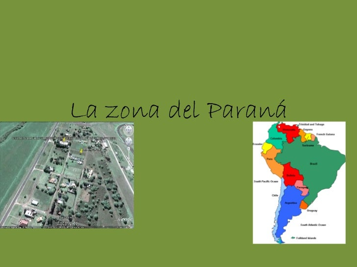 La zona del Paraná