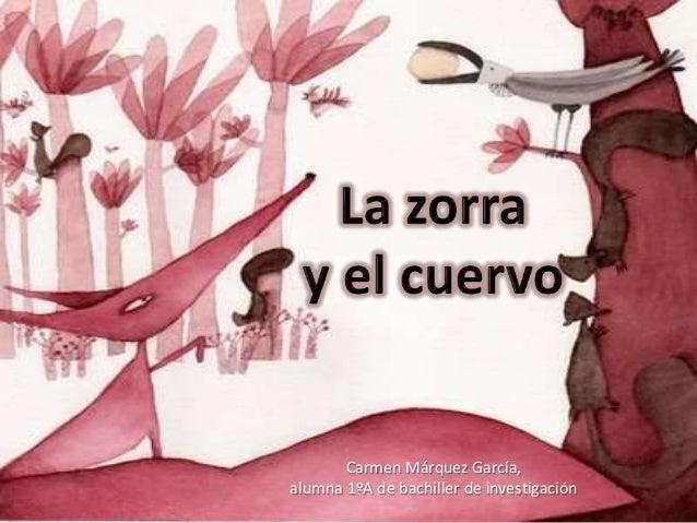 Carmen Márquez García, alumna 1ºA de bachiller de investigación