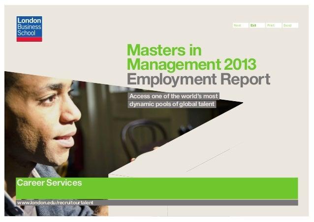 MiM Employment Report 2013