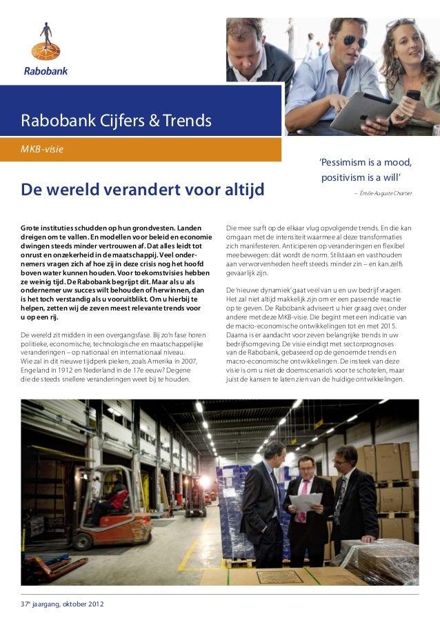 Rabobank Cijfers & TrendsMKB-visie                                                                                        ...