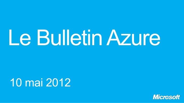 Le Bulletin Azure - Episode 7, bus et metro