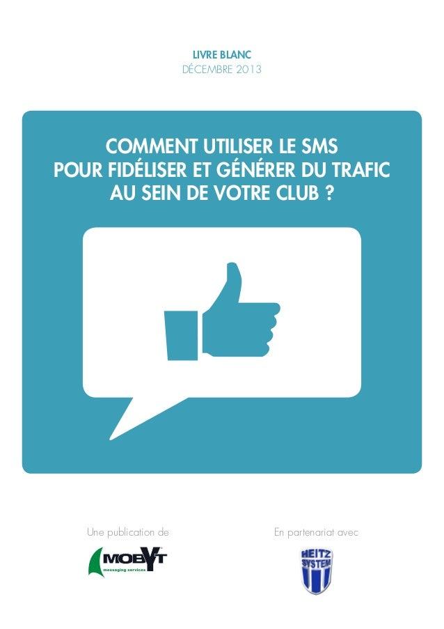"""Livre Blanc Heitz system et MOBYT """"Club de sport et mobile marketing"""""""