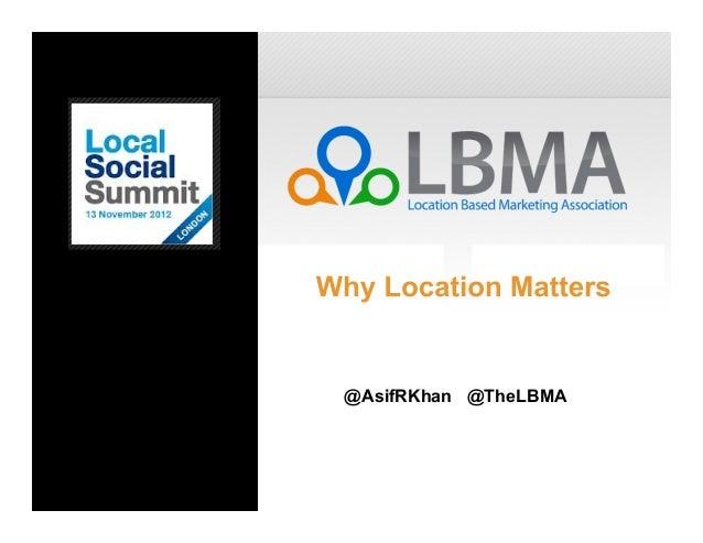 LBMA Presentation - LSS 2012