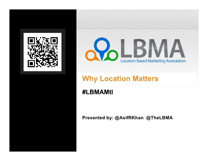 LBMA Montreal Launch Deck