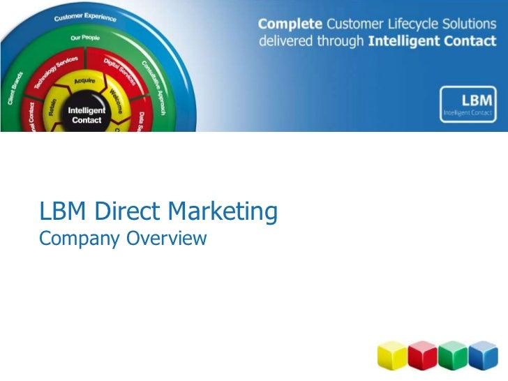 LBM Direct MarketingCompany Overview