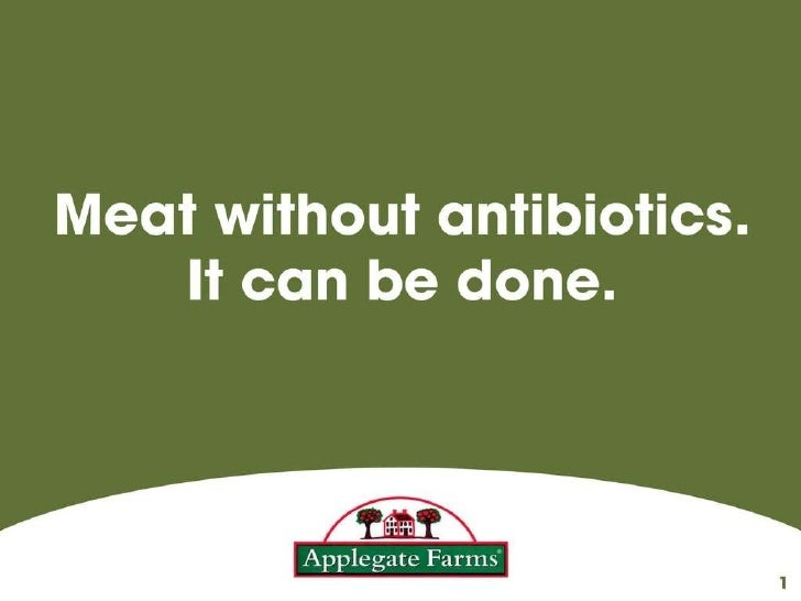Meat without antibiotics. It can be done.