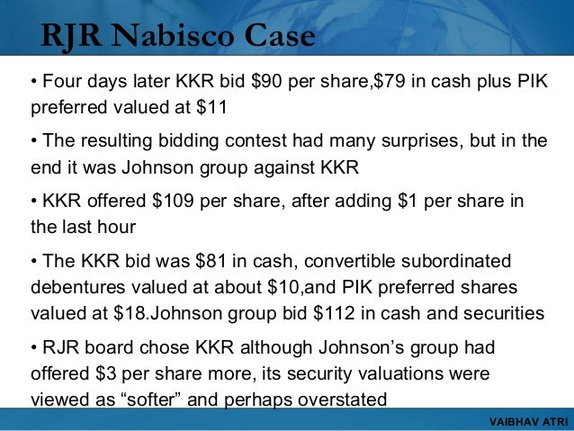 rjr nabisco write up v0