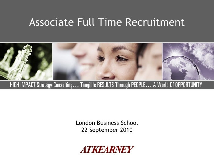 Lbs 2011 Full Time Recruitment Final