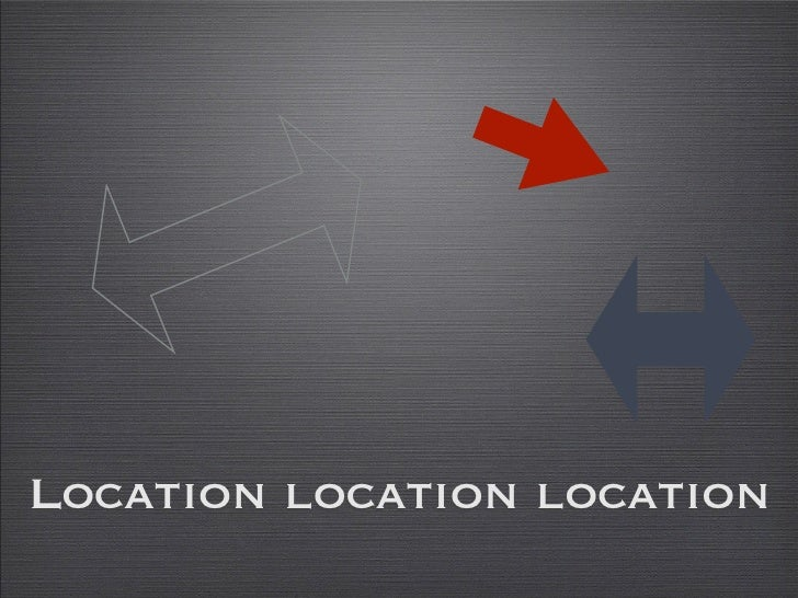 Location Based Network Presentation