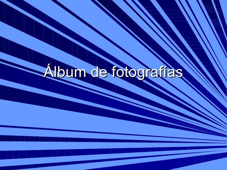 áLbum De FotografíAs Crucero