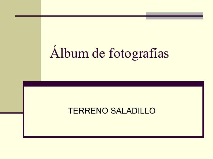 Álbum de fotografías TERRENO SALADILLO