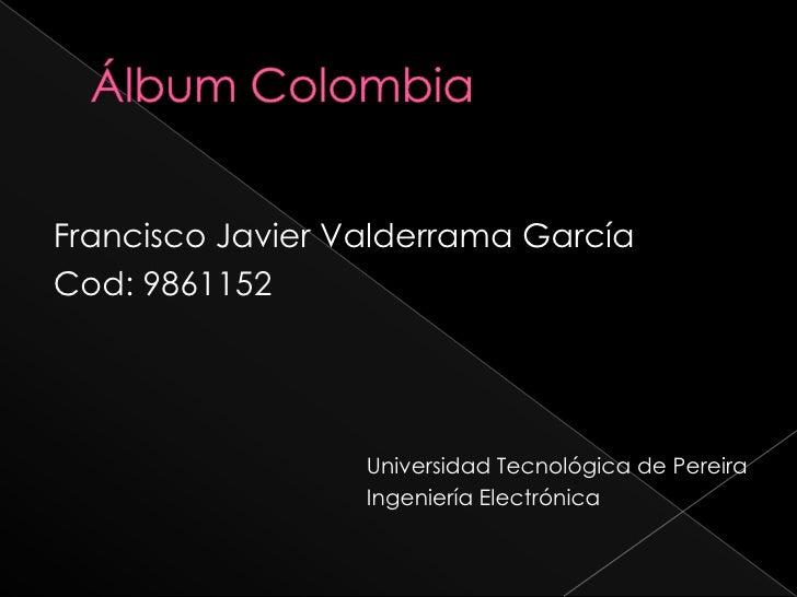áLbum Colombia