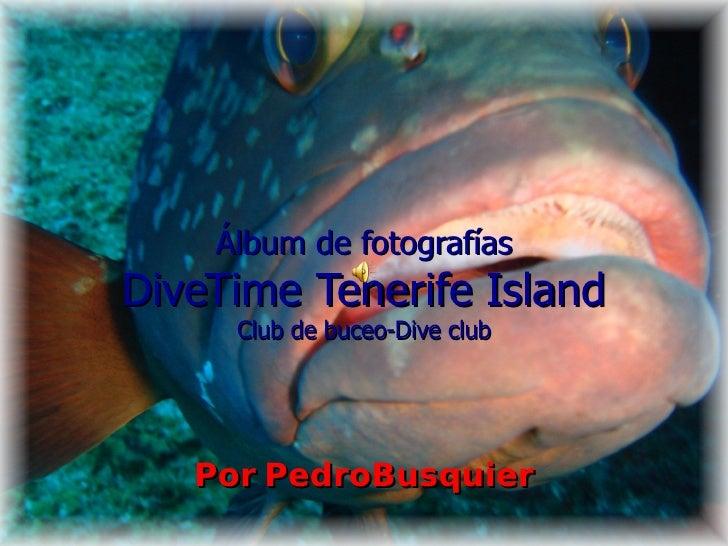 Álbum de fotografías DiveTime Tenerife Island Club de buceo-Dive club Por PedroBusquier