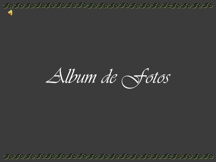 Album de Fotos<br />