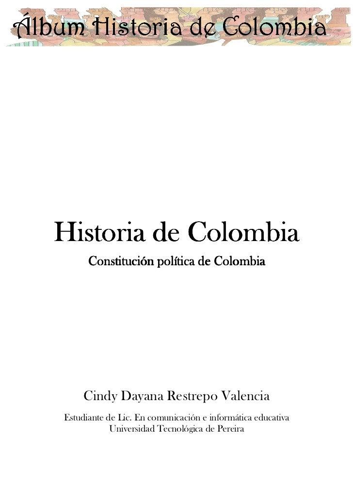 Álbum de la historia de Colombia