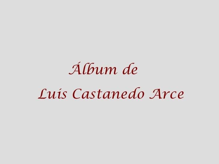 Álbum de  Luis Castanedo Arce