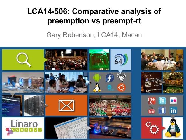 LCA14: LCA14-506: Comparative analysis of preemption vs preempt-rt