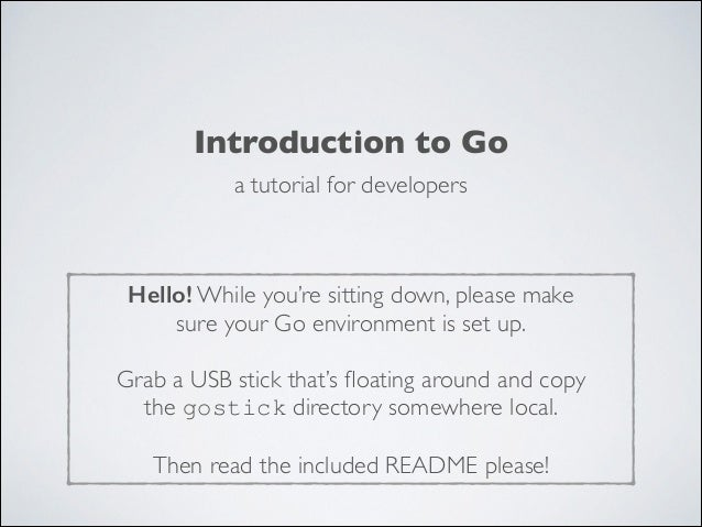 LCA2014 - Introduction to Go