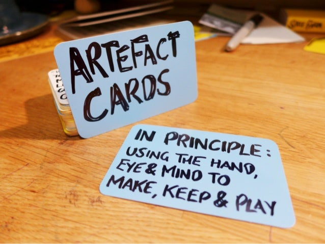 Artefact Cards - In Principle