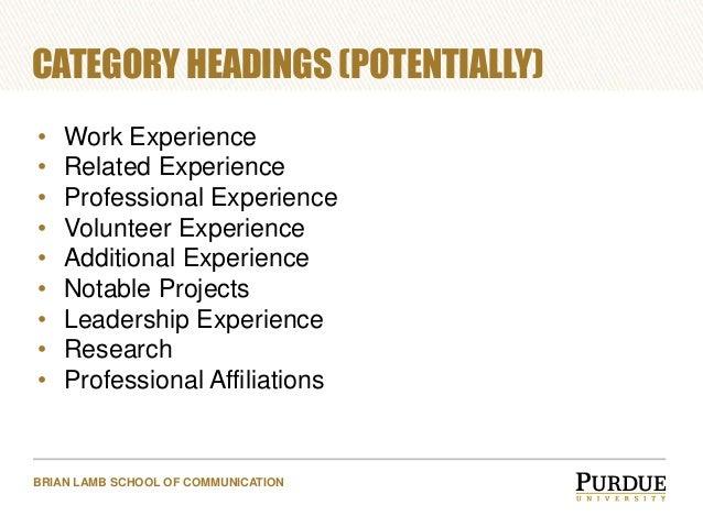workshop  resume and skills building    school experience